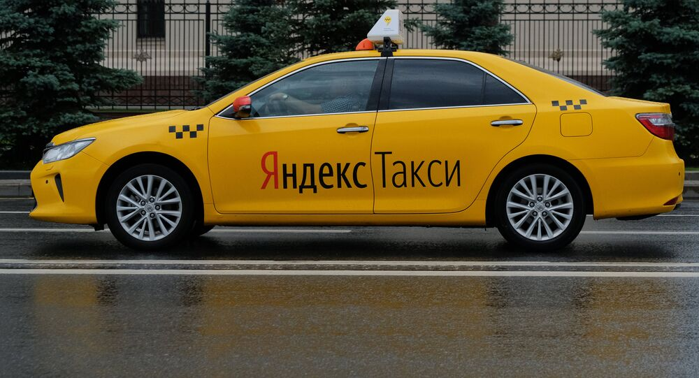 Yandex.Taxi à Moscou