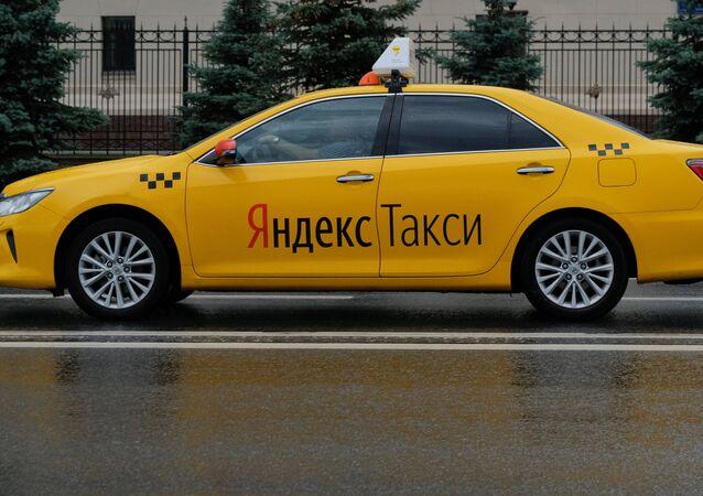 Yandex Taxi, image d'illustration