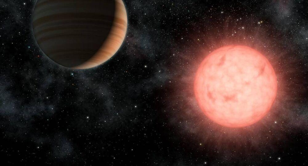 Exoplanète, image d'illustration