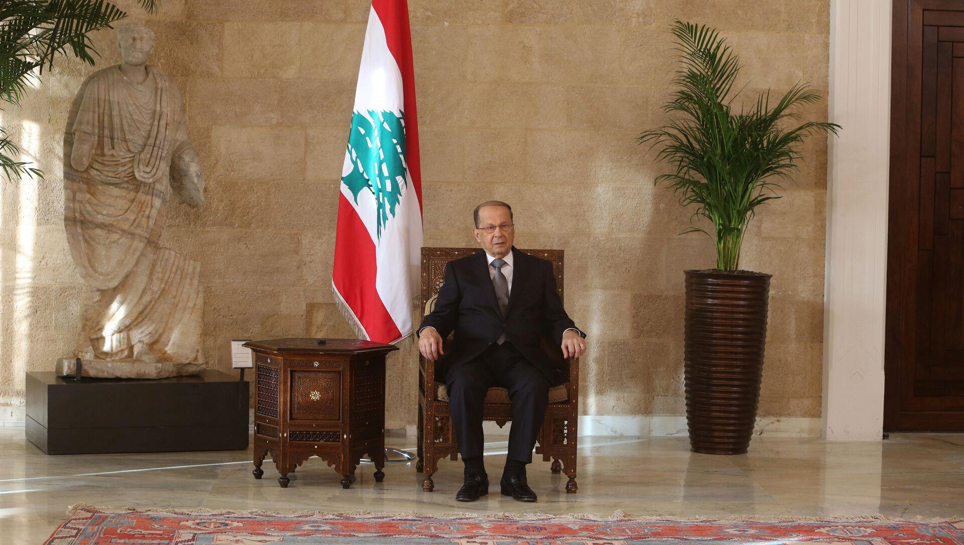 Le président libanais, Michel Aoun - Sputnik France, 1920, 30.07.2021