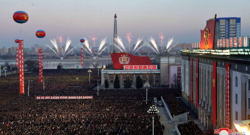 Des festivités à Pyongyang suite au tir réussi d'un missile intercontinental
