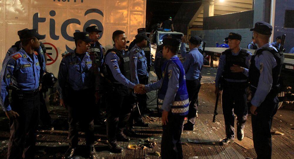 Police hondurienne