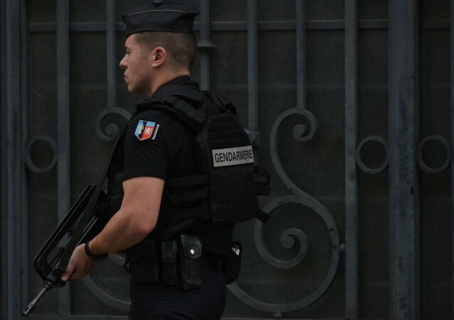 Un gendarme français