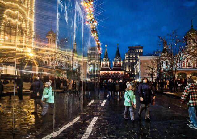 Moscou à l'approche de Noël