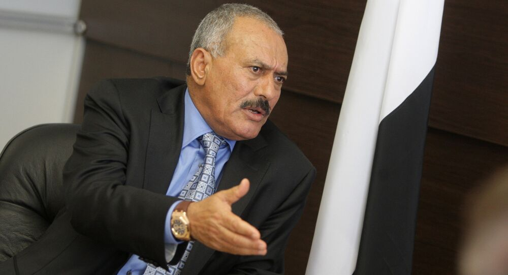 L'ex-Président yéménite Ali Abdullah Saleh