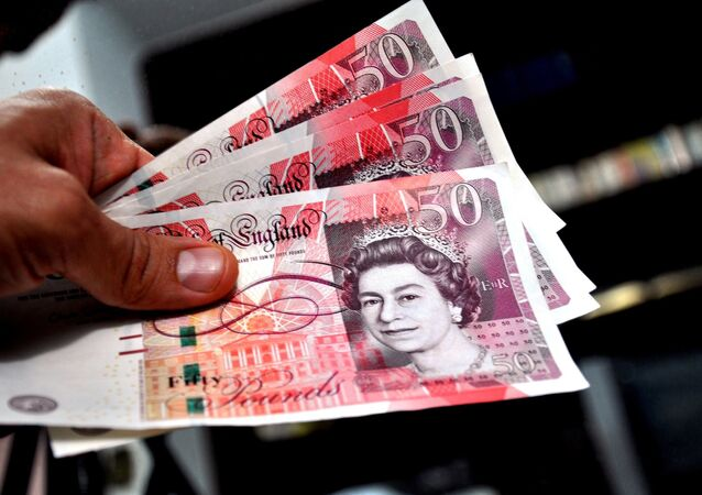 Livres sterling britanniques (image d'illustration)