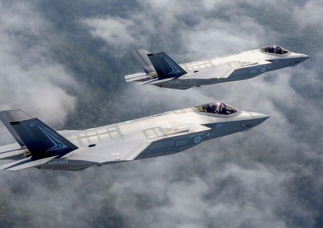 Deux chausseurs F-35, image d'illustration
