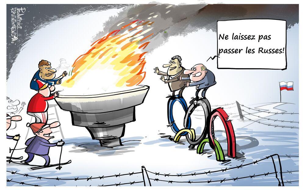 Les sportifs russes pourront concourir sous la bannière neutre