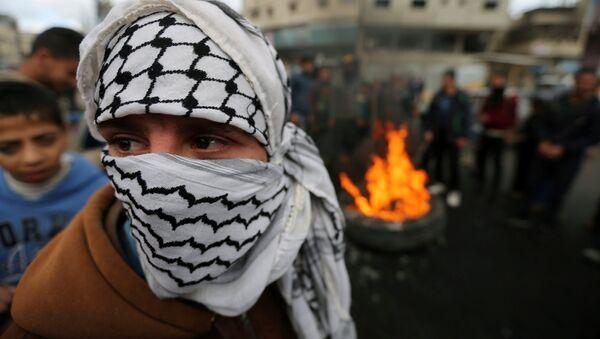 Protestataires palestiniens - Sputnik France