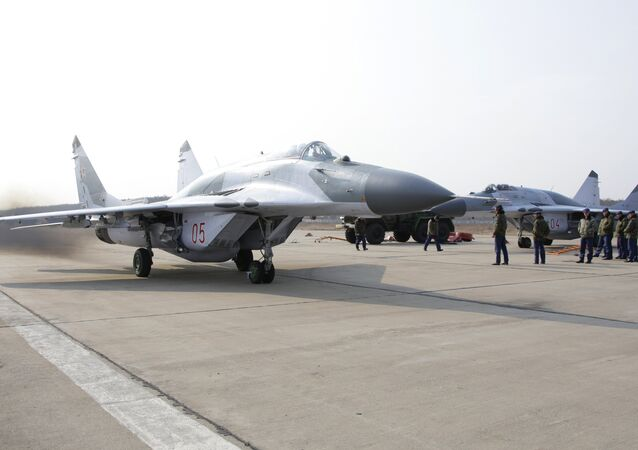 Chasseur russe MiG-29SMT
