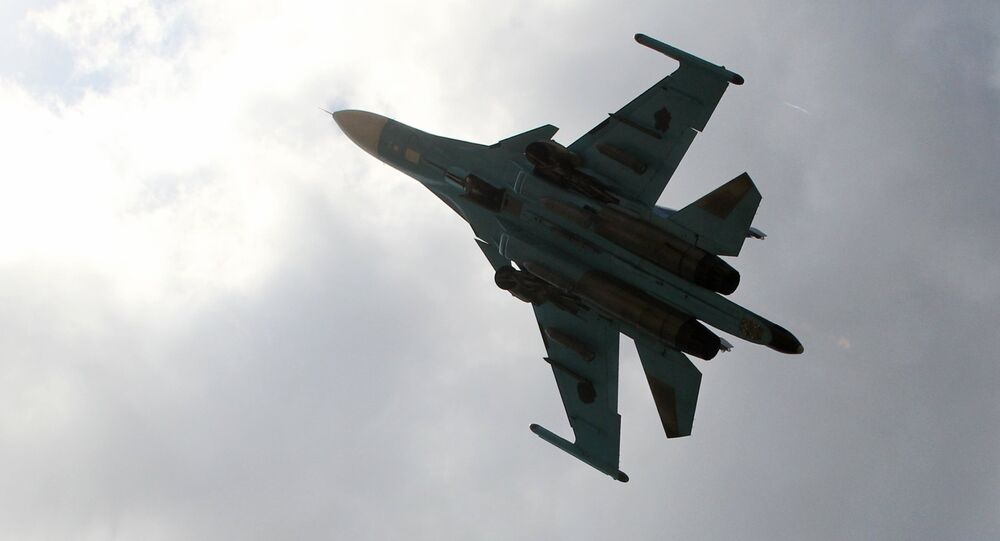 Chasseur-bombardier russe Su-34 (image d'archives)