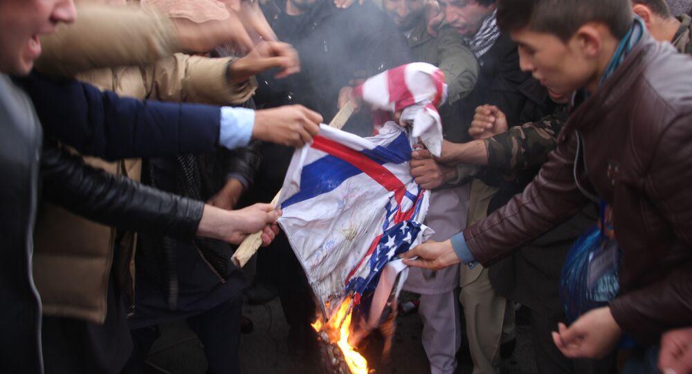 Kaboul manifeste contre l'annonce de Trump sur Jérusalem