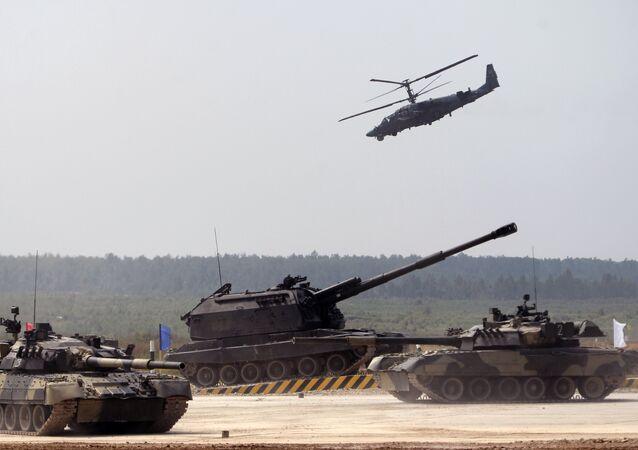 Un réarmement total: les équipements militaires livrés  à l'armée russe en 2017