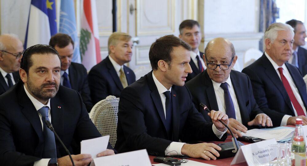 Tillerson et Saad Hariri