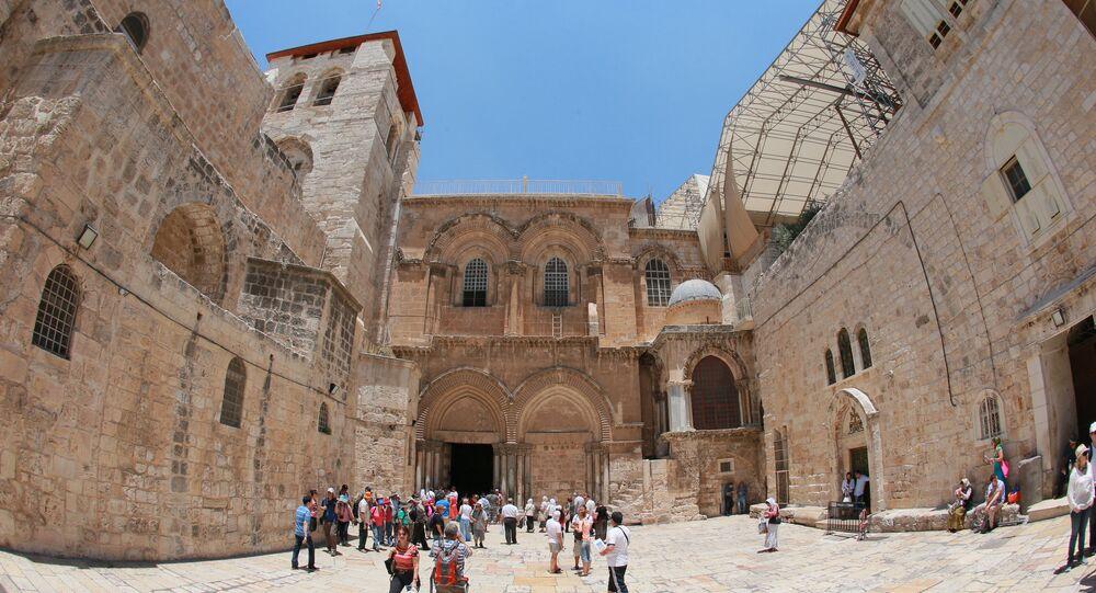 Saint-Sépulcre à Jérusalem