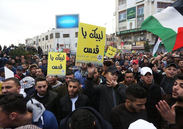 Heurts en Palestine