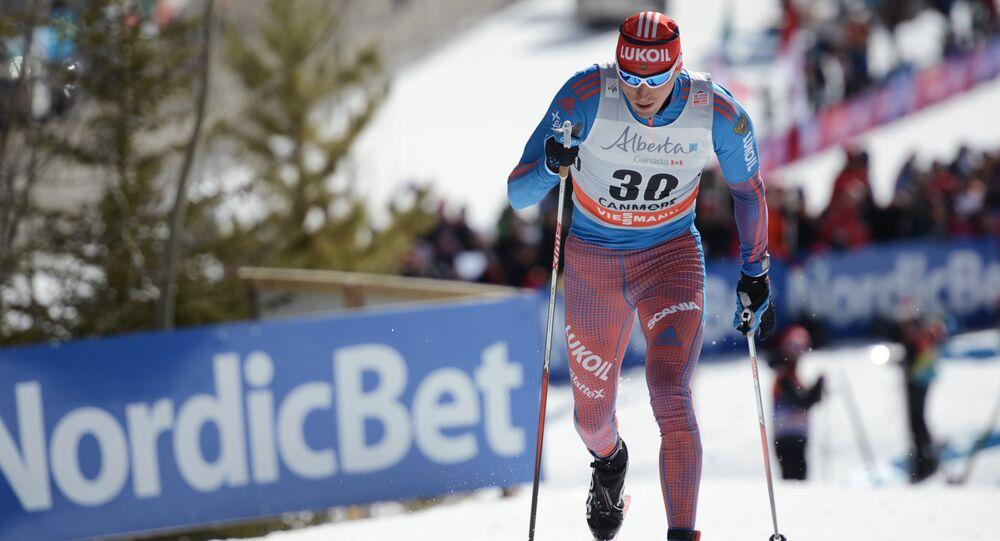 Le skieur russe Alexander Legkov