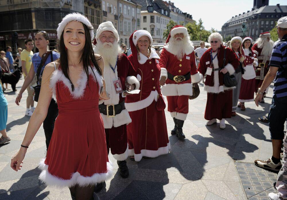 Les plus séduisantes des Santa girls