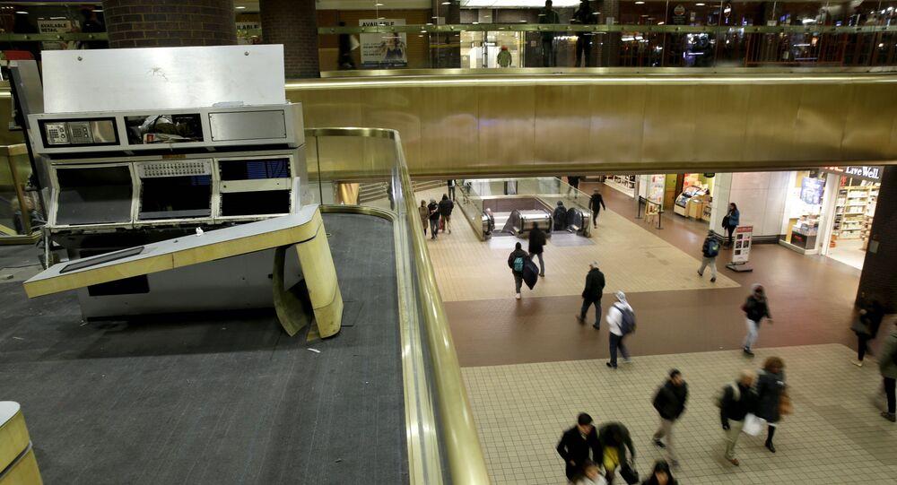 Port Authority Bus Terminal à New York