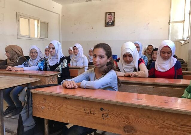 étudiants syriens