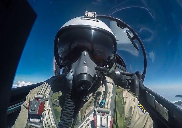 Un pilote russe lors d'une opération antiterroriste en Syrie