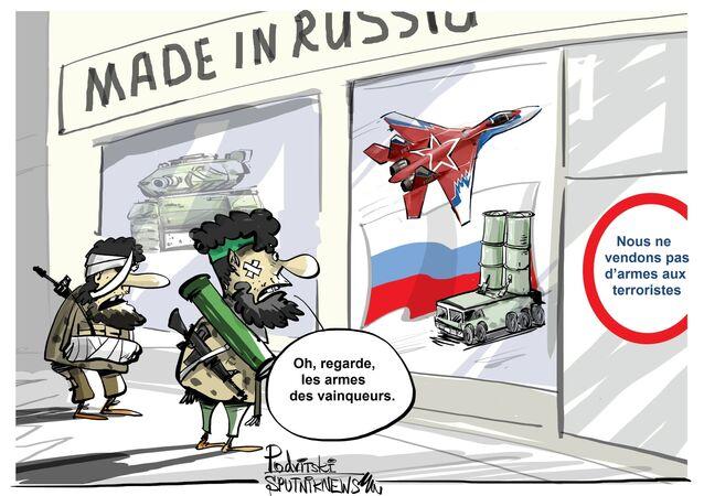SIPRI: La Russie augmente sa part sur le marché des armes