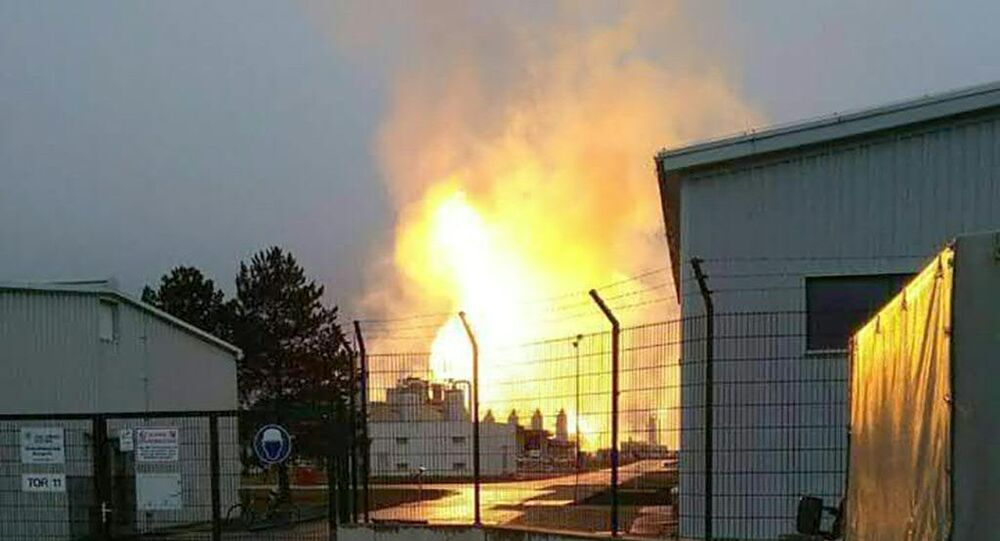 Explosion de gaz à Baumgarten