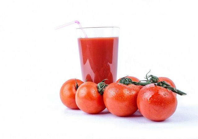 Du jus de tomate