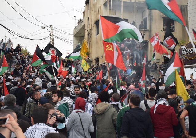 Manifestation à Beyrouh