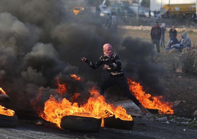 Affrontements près de la frontière palestino-israélienne