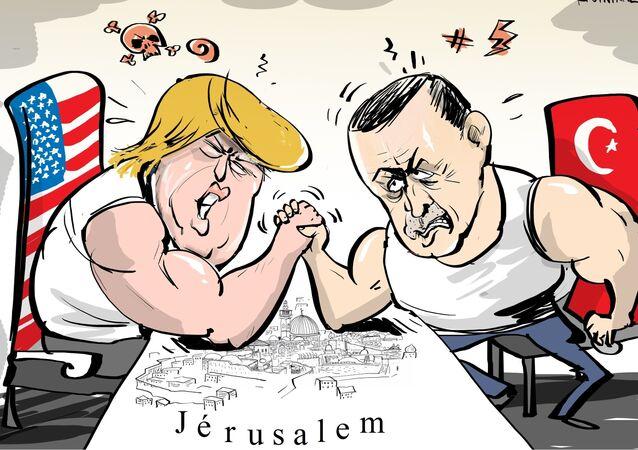 Erdogan appelle à reconnaître Jérusalem-Est comme «capitale de la Palestine»