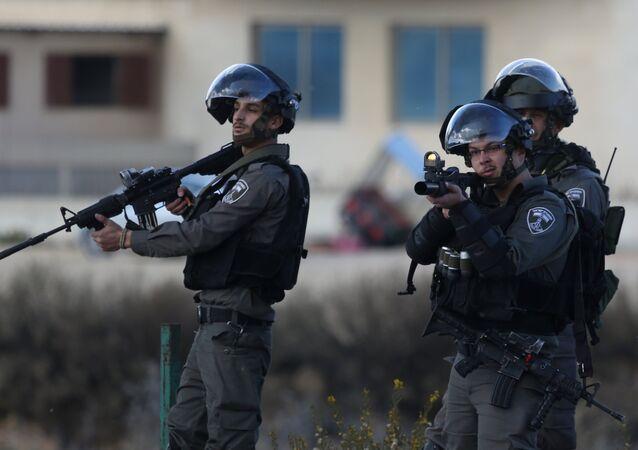 Des militaires israéliens