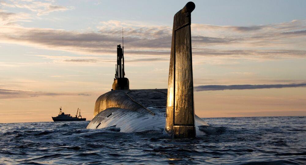 Le sous-marin nucléaire Iouri Dolgorouki