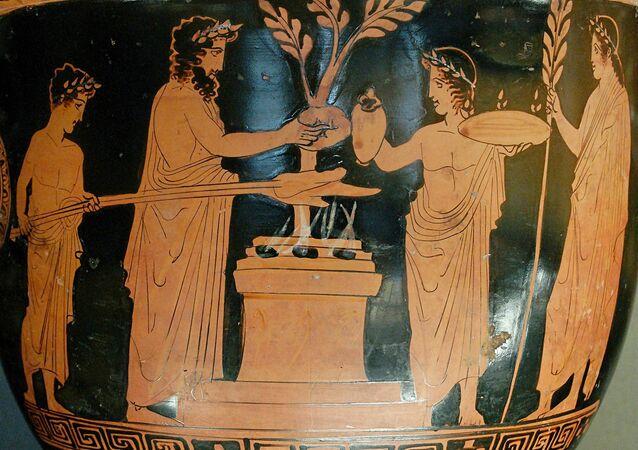 Un vase grec
