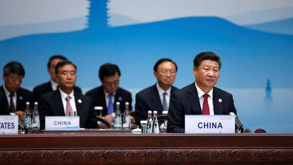 Le président chinois Xi Jinping  - Sputnik France