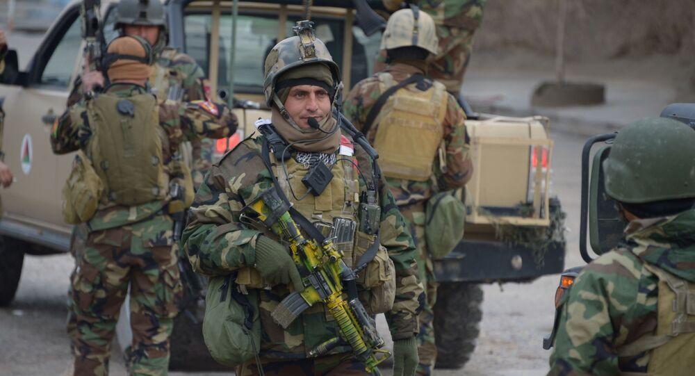 Soldats afghans