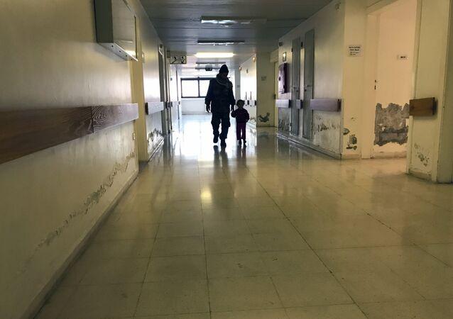 l'hôpital en Syrie