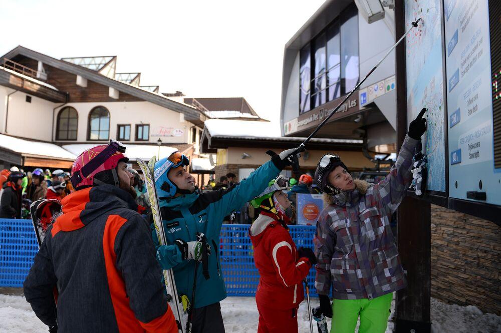 Ouverture de la saison à la station de ski alpin Rosa Khutor à Sotchi