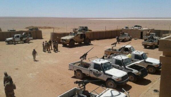 Base américaine d'al-Tanf en Syrie - Sputnik France
