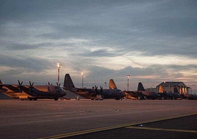 La base aérienne de Mildenhall