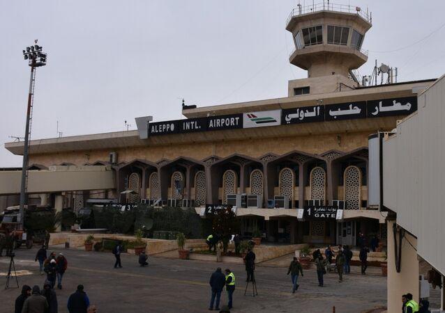 Aéroport international d'Alep en 2016. Photo d'archive