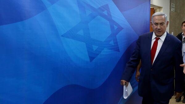 Israelischer Premier Benjamin Netanjahu - Sputnik France