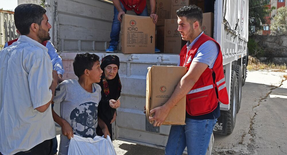 Aides humanitaires, Syrie
