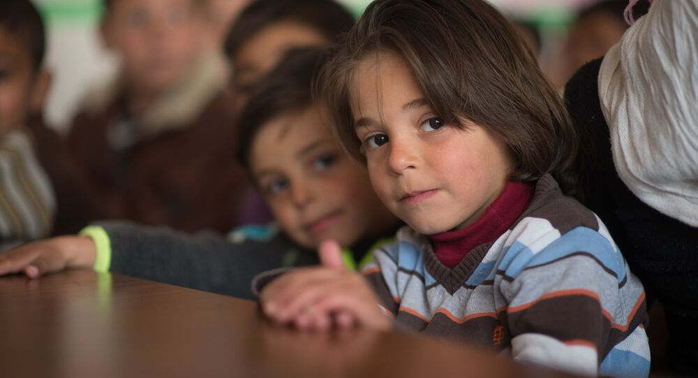 les enfants syriens