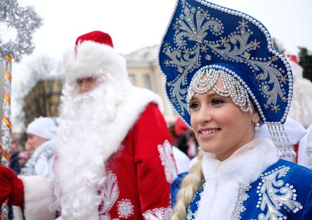 Filles de neige russes