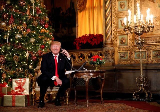 Donald Trump à Mar-a-Lago en Floride