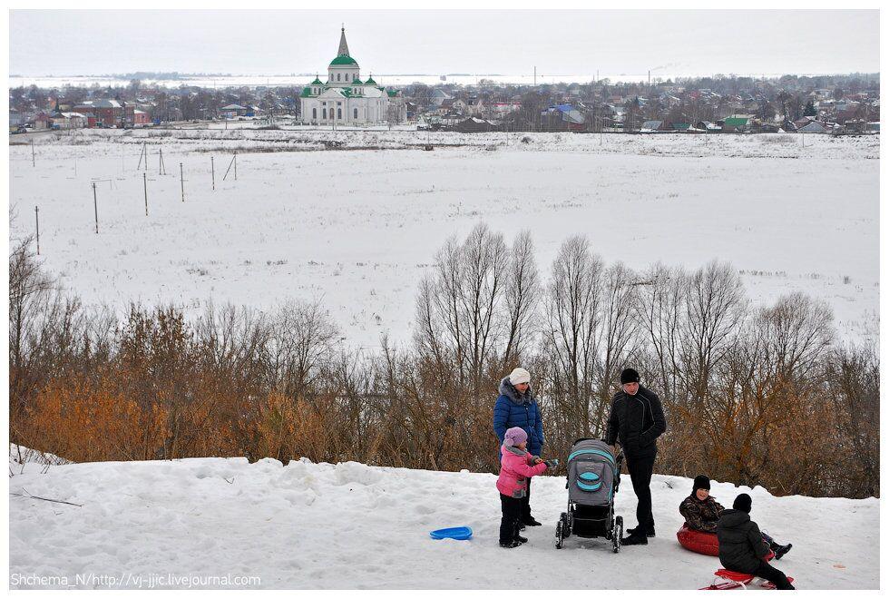 L'hiver dans la Russie profonde