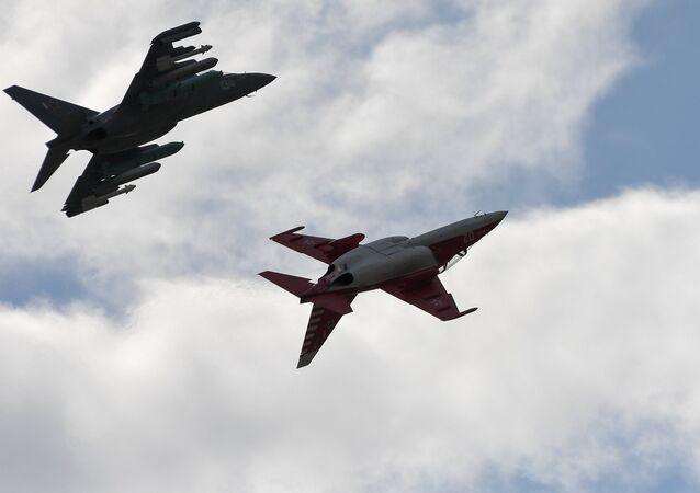 Des avions Yak-130