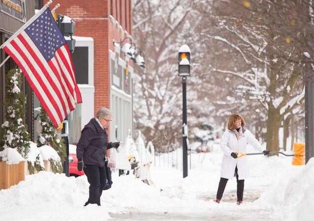 L'hiver aux États-Unis