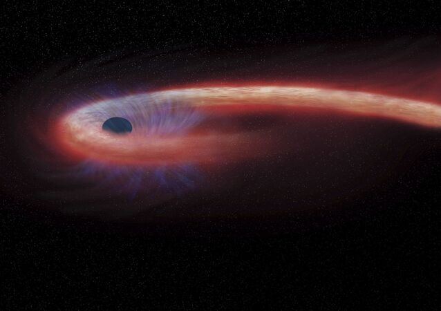 Percée sans précédent: un puissant rayonnement détecté dans les tréfonds de l'espace (image d'illustration)